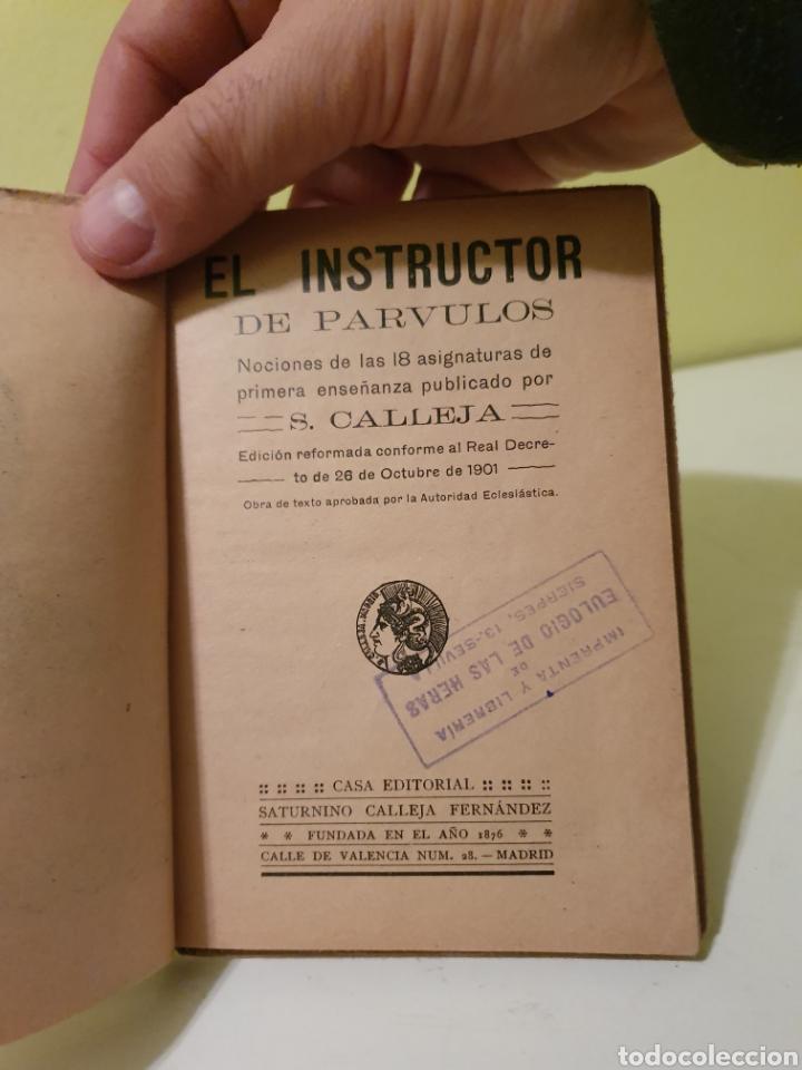 Libros antiguos: LIBRO ANTIGUO EL INSTRUCTOR DE PÁRVULOS PUBLICADO POR S. CALLEJA - Foto 4 - 184736152