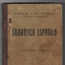 Libros antiguos: GRAMATICA ESPAÑOLA,1936. Lote 185729550