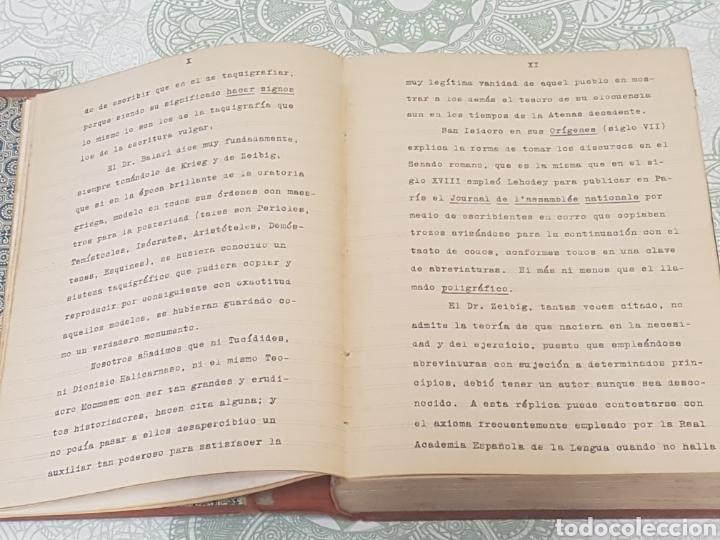 Libros antiguos: Diccionario Taquigrafico de la lengua Castellana Sistema Marti-Escuela Catalana Barcelona 1912 - Foto 4 - 189486170