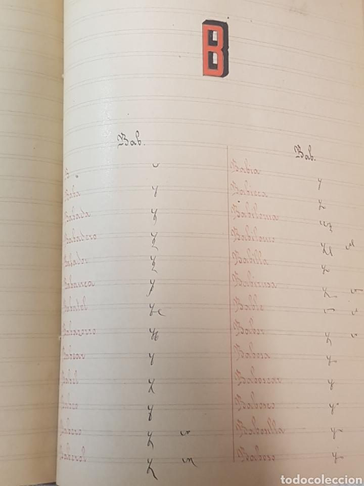 Libros antiguos: Diccionario Taquigrafico de la lengua Castellana Sistema Marti-Escuela Catalana Barcelona 1912 - Foto 6 - 189486170