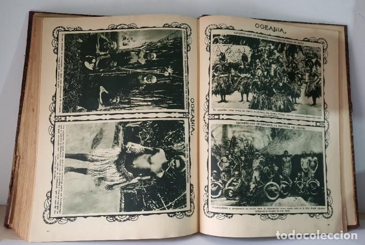 Libros antiguos: PANORAMA PINTORESCO *** AFRICA ** AMERICA ** ASIA ** EUROPA ** OCEANIA - Foto 3 - 80730570