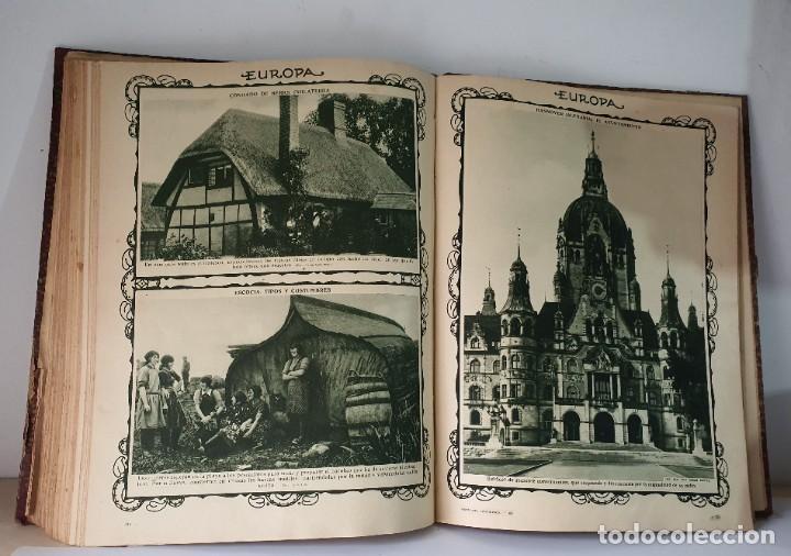 Libros antiguos: PANORAMA PINTORESCO *** AFRICA ** AMERICA ** ASIA ** EUROPA ** OCEANIA - Foto 5 - 80730570
