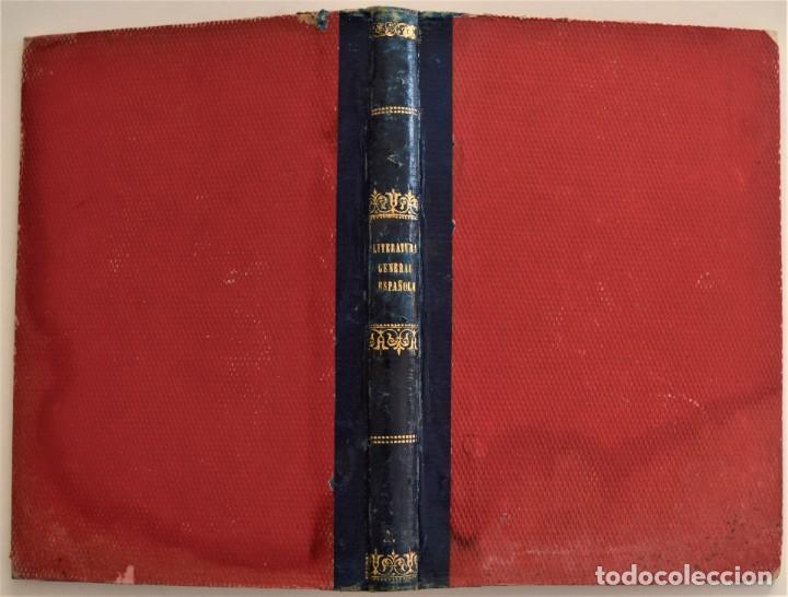 Libros antiguos: LECCIONES DE LITERATURA GENERAL Y ESPAÑOLA - 2º PARTE, LITERATURA ESPAÑOLA - R. CANO - PALENCIA 1877 - Foto 2 - 189958892
