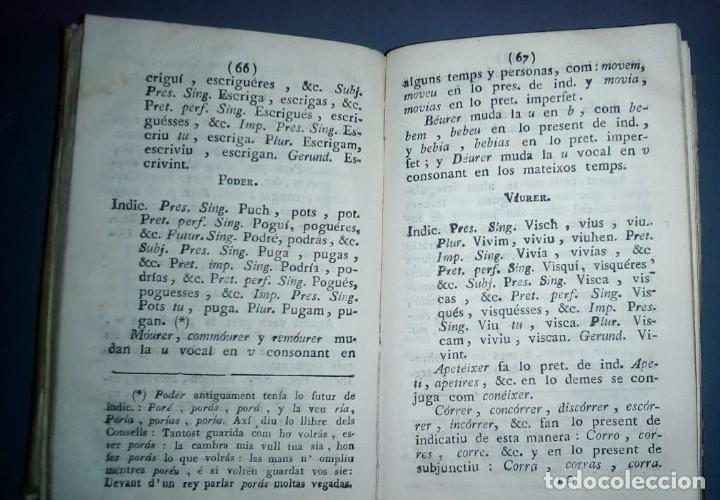Libros antiguos: Gramática y apología de la Llengua Cathalana. D.Joseph Pau Ballot y Torres. 1814. Primera edició. - Foto 6 - 190166168