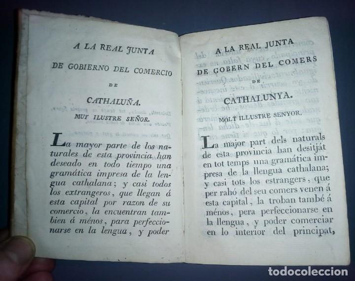 Libros antiguos: Gramática y apología de la Llengua Cathalana. D.Joseph Pau Ballot y Torres. 1814. Primera edició. - Foto 7 - 190166168
