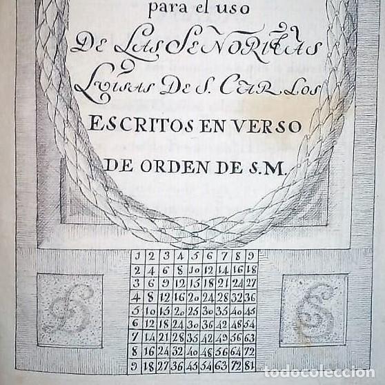 Libros antiguos: Principios de aritmética para el uso de las Señoritas Luisas de San Carlos. Libro manuscrito s.XVIII - Foto 2 - 191075011