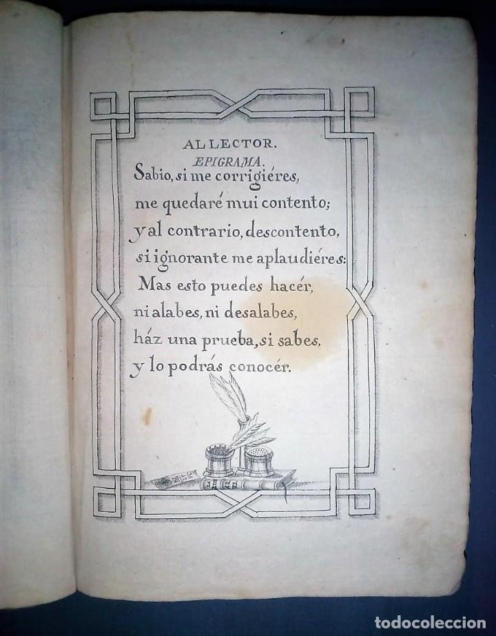 Libros antiguos: Principios de aritmética para el uso de las Señoritas Luisas de San Carlos. Libro manuscrito s.XVIII - Foto 9 - 191075011