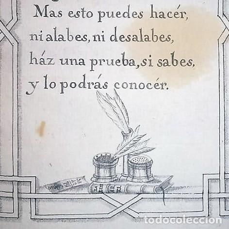 Libros antiguos: Principios de aritmética para el uso de las Señoritas Luisas de San Carlos. Libro manuscrito s.XVIII - Foto 10 - 191075011