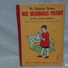 Libros antiguos: ENCICLOPEDIA ESCOLAR MIS SEGUNDOS PASOS GRADO PREPARATORIO HIJOS DE SANTIAGO RODRÍGUEZ BURGOS 1951 . Lote 191343645
