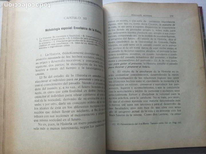 Libros antiguos: PEDAGOGÍA MODERNA.TRATADO DE LA ENSEÑANZA.TOMO II. 1930. - Foto 10 - 191399031