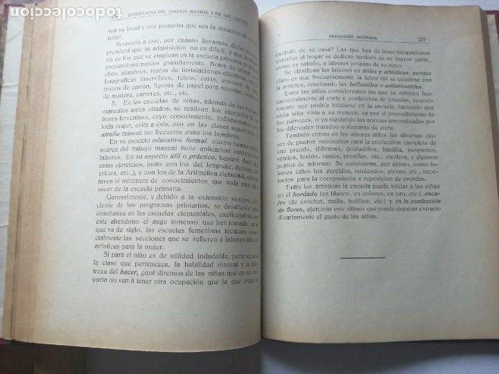 Libros antiguos: PEDAGOGÍA MODERNA.TRATADO DE LA ENSEÑANZA.TOMO II. 1930. - Foto 11 - 191399031