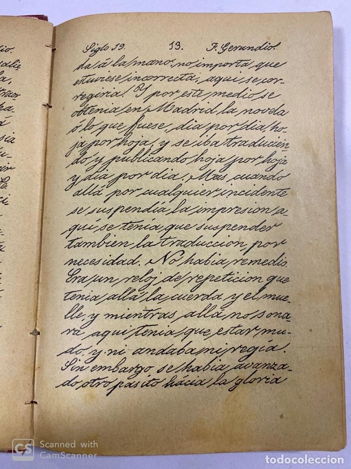 Libros antiguos: ESCRITURA Y LENGUAJE DE ESPAÑA. ESTEBAN PALUZIE. MADRID, 1909. PAGS: 296. FRONTISPICIO ROTO. - Foto 2 - 191769477