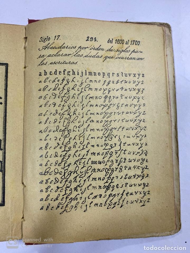 Libros antiguos: ESCRITURA Y LENGUAJE DE ESPAÑA. ESTEBAN PALUZIE. MADRID, 1909. PAGS: 296. FRONTISPICIO ROTO. - Foto 5 - 191769477