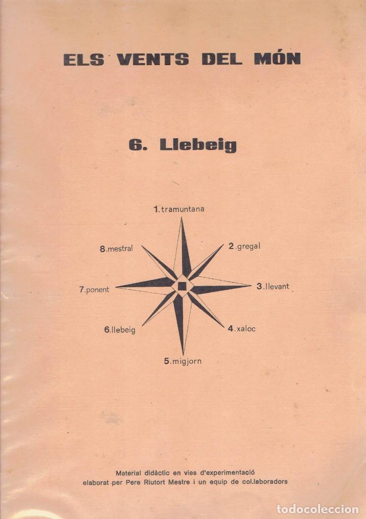 Libros antiguos: 2 LLIBRES DE TEXT, ELS VENTS DEL MON 6 LIEBEIG DIRECCIO PERE RIUTORT MESTRE 1976 - Foto 2 - 191850751