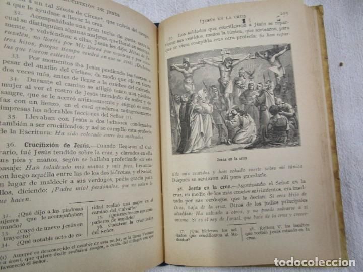 Libros antiguos: ESCUELA - HISTORIA SAGRADA 2º GRADO - EDI LIB. CATOLICA BARCELONA 1918, ILUSTRADA + INFO - Foto 4 - 191922111