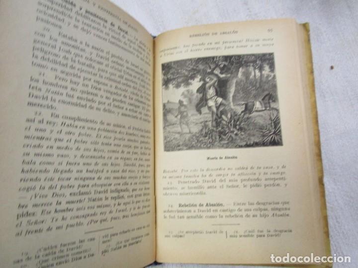 Libros antiguos: ESCUELA - HISTORIA SAGRADA 2º GRADO - EDI LIB. CATOLICA BARCELONA 1918, ILUSTRADA + INFO - Foto 5 - 191922111