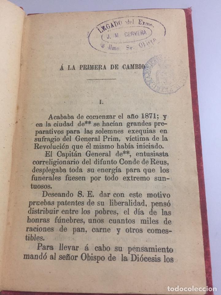 Libros antiguos: Páginas Morales por D. Jose Miralles 1891 - Foto 3 - 191955428