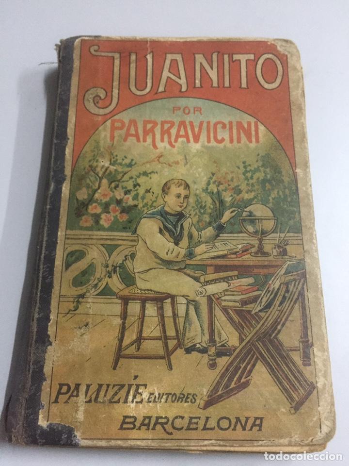 JUANITO POR PARRAVICINI (Libros Antiguos, Raros y Curiosos - Libros de Texto y Escuela)