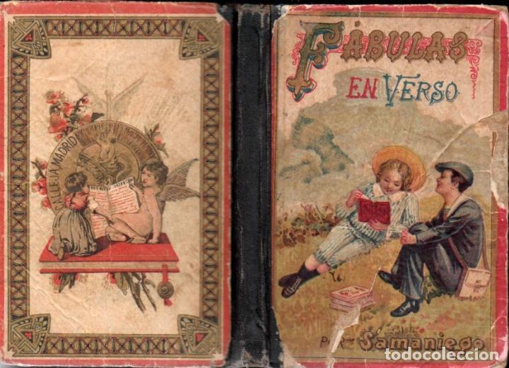 SAMANIEGO : FÁBULAS EN VERSO (SATURNINO CALLEJA, 1903) (Libros Antiguos, Raros y Curiosos - Libros de Texto y Escuela)