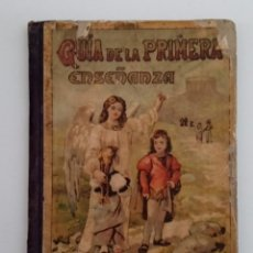 Libros antiguos: GUÍA DE LA PRIMERA ENSEÑANZA. COMPENDIO DE HIGIENE Y ECONOMÍA. TOMO XIII. 1901. Lote 192619392