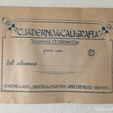 Livres anciens: CUADERNO DE CALIGRAFIA SISTEMA ITURZAETA. Lote 193374600