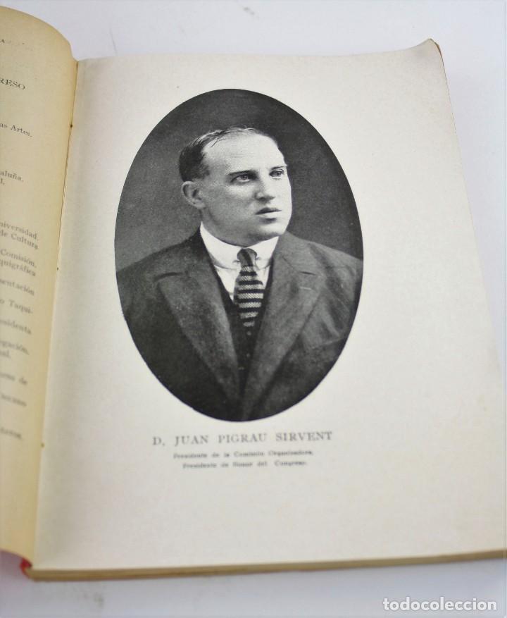 Libros antiguos: Reseña del primer congreso hispano americano filipino de estenografía, 1922, Barcelona. 24x17cm - Foto 4 - 193798423