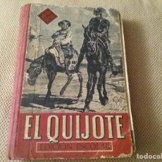 Livros antigos: EL QUIJOTE. EDICIÓN ESCOLAR. AÑO 1943 (40). Lote 194234903
