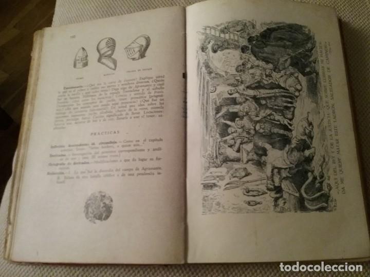 Libros antiguos: El Quijote. Edición escolar. Año 1943 - Foto 2 - 194234903