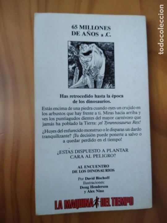 Libros antiguos: LIBRO LA MÁQUINA DEL TIEMPO. AL ENCUENTRO DE LOS DINOSAURIOS. Nº2. ED. TIMUN MAS - Foto 2 - 194238072