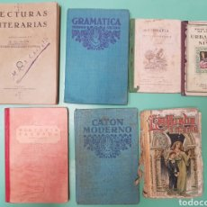 Libros antiguos: LIBROS TEXTO ANTIGUOS AÑOS 30. Lote 194276051