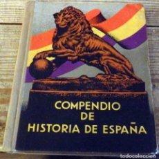 Libros antiguos: COMPENDIO DE HISTORIA DE ESPAÑA. POR ALBERTO LLANO. I. G. SEIX BARRAL HNOS, 1932.. Lote 194280832