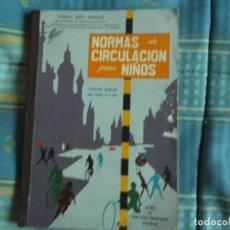 Libros antiguos: LIBRO ESCUELA NORMAS CIRCULACION PARA NIÑOS . Lote 194316105