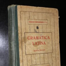 Libros antiguos: GRAMÁTICA LATINA.. Lote 194320646