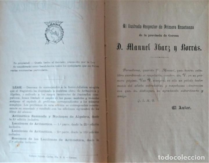 Libros antiguos: SOLUCIONES ANALITICAS - LIBRO DEL MAESTRO - D. JOSE DALMAU CARLES - Foto 2 - 194506016