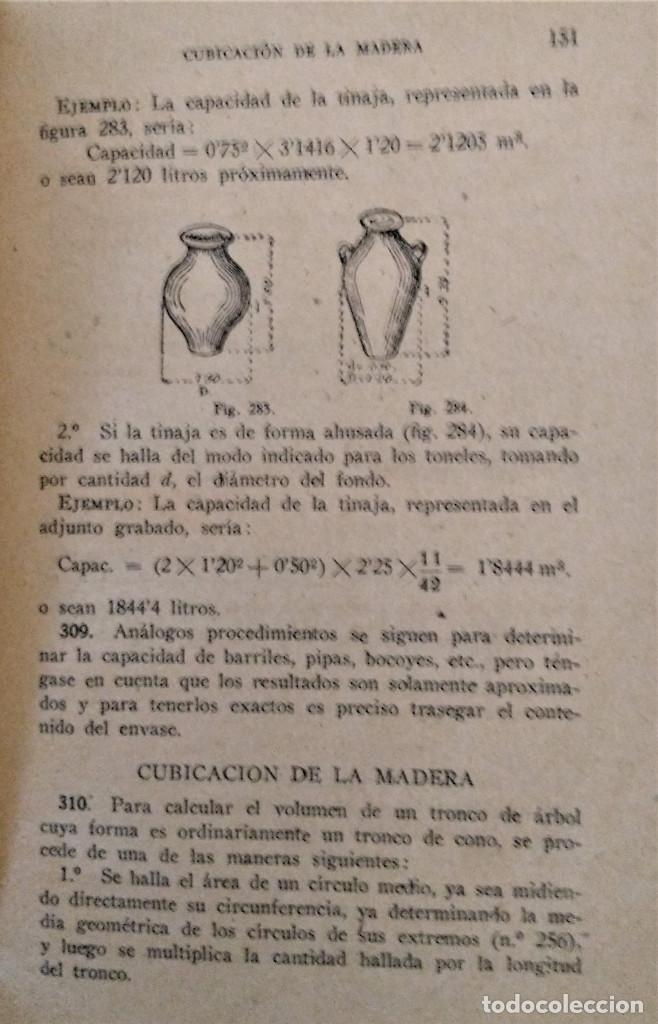 Libros antiguos: LECCIONES ELEMENTALES DE GEOMETRIA - TERCER GRADO - EDICIONES BRUÑO - Foto 6 - 194508531
