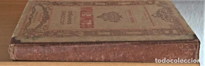 Libros antiguos: LECCIONES ELEMENTALES DE GEOMETRIA - TERCER GRADO - EDICIONES BRUÑO - Foto 8 - 194508531