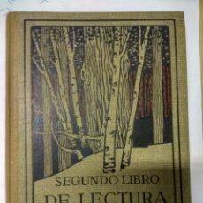 Libros antiguos: SEGUNDO LIBRO DE LECTURA-SEIX BARRAL-1934. Lote 194551652