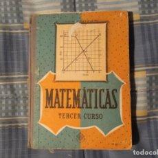 Libros antiguos: LIBRO COLEGIO EDELVIVES-MATEMATICAS. Lote 194629593