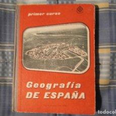 Libros antiguos: LIBRO COLEGIO EDELVIVES-GEOGRAFIA. Lote 194629640