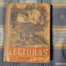 Libros antiguos: LIBRO COLEGIO EDELVIVES-LECTURAS. Lote 194629690
