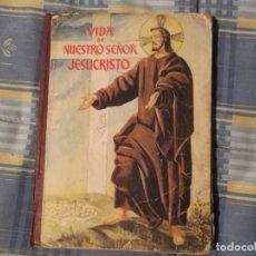 Libros antiguos: LIBRO COLEGIO -BRUÑO--VIDA DE JESUCRISTO. Lote 194629780