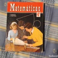 Libros antiguos: LIBRO COLEGIO--SM--MATEMATICAS. Lote 194629981