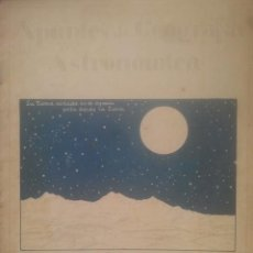 Libros antiguos: APUNTES DE GEOGRAFÍA ASTRONÓMICA - CUADERNO 4º - EL CIELO / LA TIERRA EN EL ESPACIO - AÑOS 1930. Lote 194692605