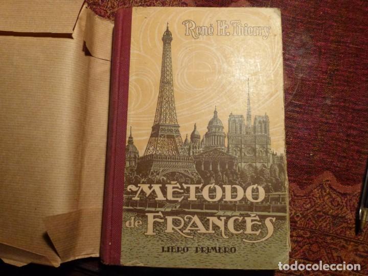 Libros antiguos: Rebé. H. Thierry. Método de francés. Libro primero. Año 1922. 288 pags. Tapa dura. - Foto 3 - 194780445