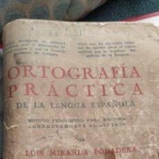 Libros antiguos: ANTIGUO LIBRO DE LUIS MIRANDA PODADERA. Lote 194952517