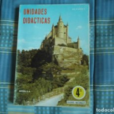 Libros antiguos: LIBRO UNIDADES DIDACTICAS. 4º ALVAREZ MIÑON. Lote 195110238