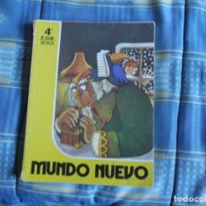 Libros antiguos: LIBRO ANAYA 4º MUNDO NUEVO. Lote 195110581