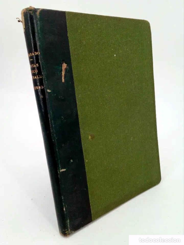 INICIACIÓN EN LAS CIENCIAS FÍSICONATURALES. TERCER CURSO (SALUSTIO ALVARADO) SGP, 1936 (Libros Antiguos, Raros y Curiosos - Libros de Texto y Escuela)