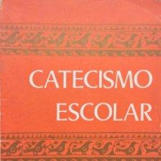 Libros antiguos: CATECISMO ESCOLAR 2º EGB. COMISIÓN EPISCOPAL.. Lote 195135190