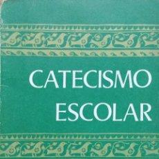 Libros antiguos: CATECISMO ESCOLAR 3º EGB. COMICIÓN EPISCOPAL. Lote 195135386
